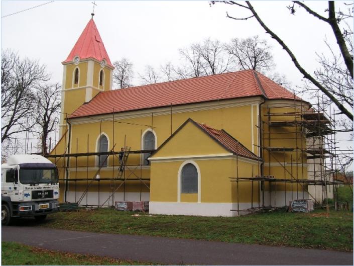 Rekonstrukce kaple, Micmanice