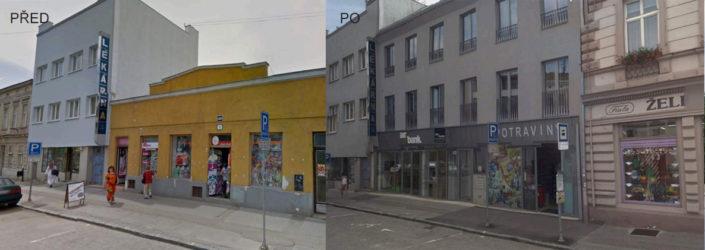 Obchodní a bytový dům, Znojmo
