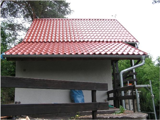 Rekonstrukce chaty, Chvalatice