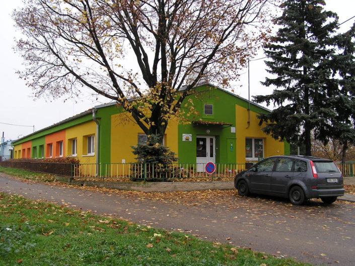 Fasáda mateřské školy, Tasovice