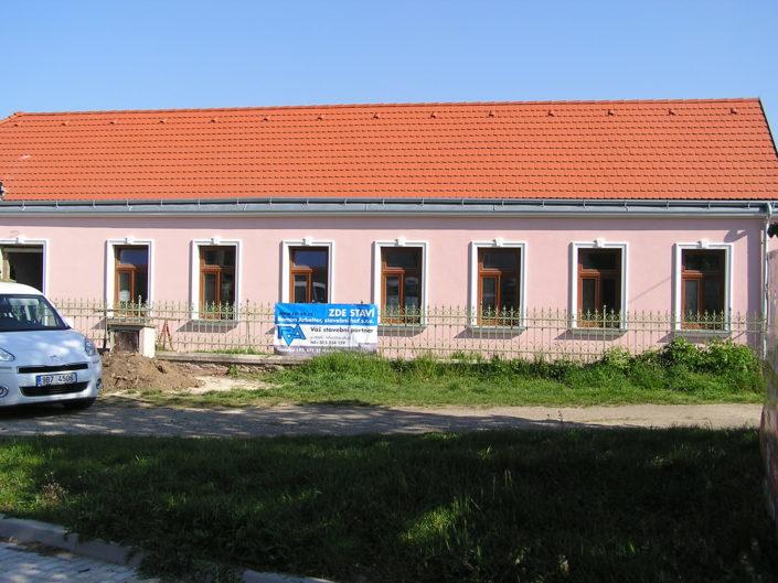 Rekonstrukce rodinného domu, Božice